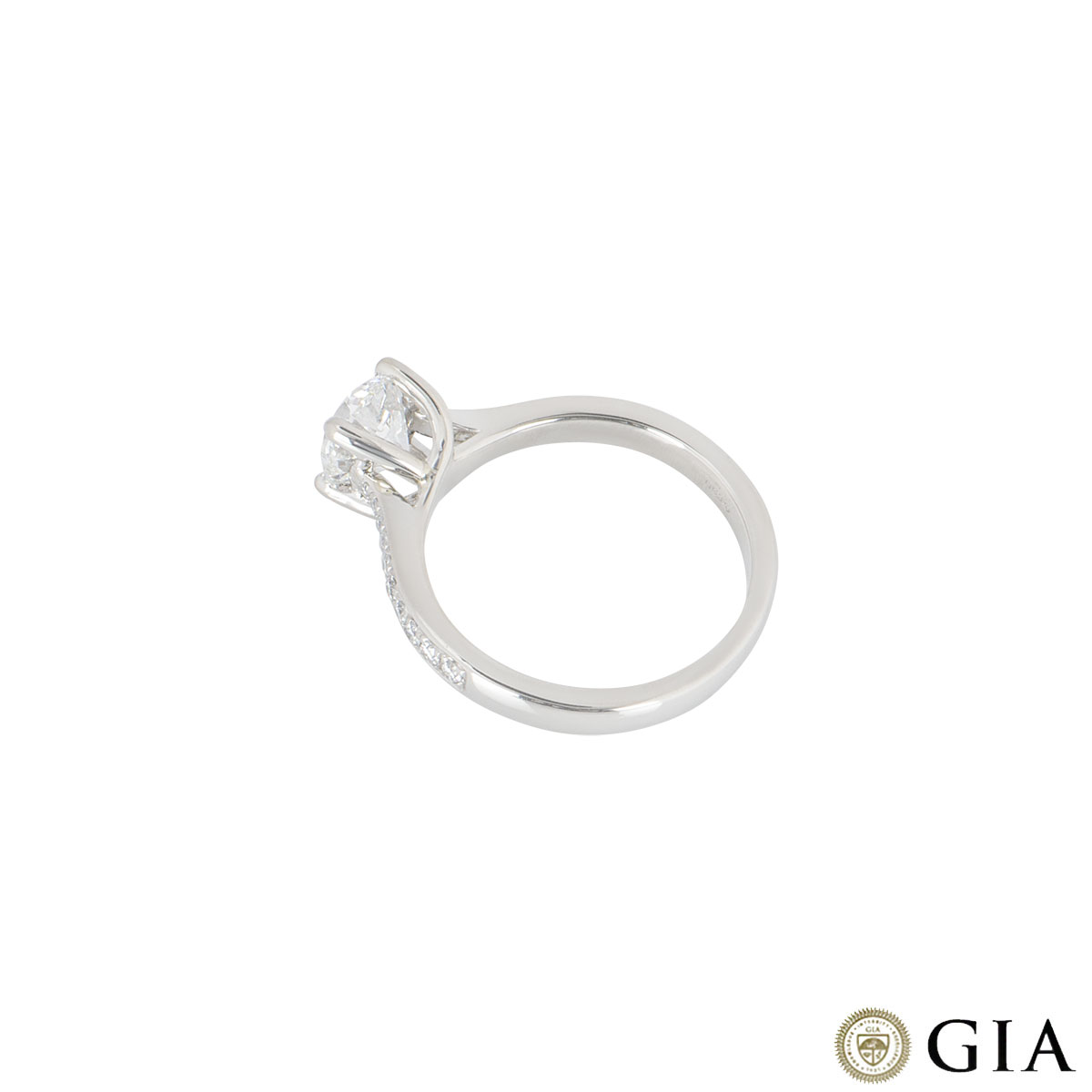 Laing Platinum Diamond Ring 1.02ct G/SI1